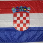 Bandiera Croazia Aperta