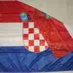 Bandiera Croazia Piegata