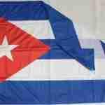 Bandiera Cuba Piegata