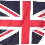 Bandiera UK Piegata