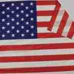 Bandiera USA Piegata